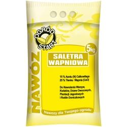 Saletra wapniowa - nawóz azotowy 5kg - Ogród Start