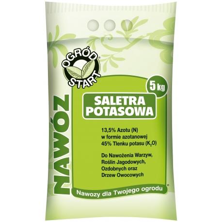 Saletra potasowa - nawóz potasowy 5kg - Ogród Start