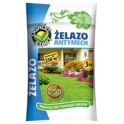 Antymech, nawóz do zwalczania mchu na trawniku 5 kg - Ogród Start