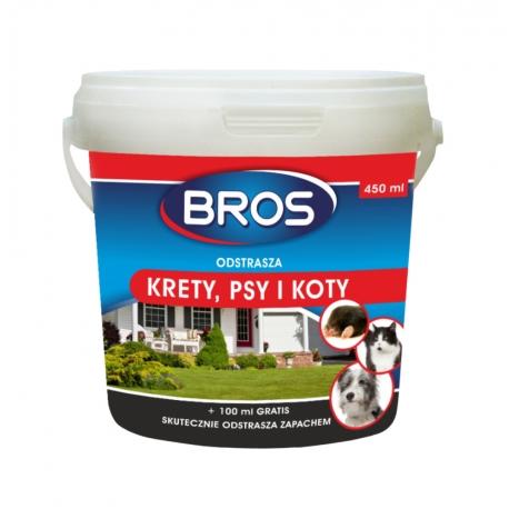 Środek do odstraszania kretów, psów i kotów 350 ml - Bros