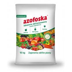 Azofoska granulowana 10 kg - idealnie zbilansowany nawóz ogrodniczy