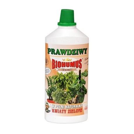 Biohumus do kwiatów zielonych