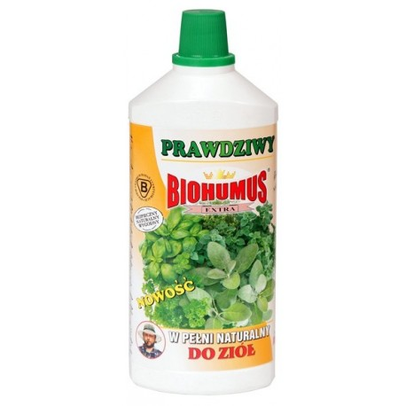 Biohumus Extra do Ziół 1 litr