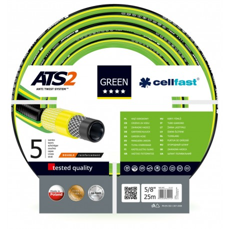 """Wąż ogrodowy Green ATS2 5/8"""" 25 mb"""