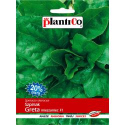 Szpinak Greta mieszaniec F1 - 10+2g - Plantico