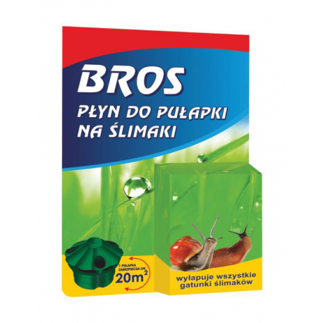 Płyn do pułapki na ślimaki 5ml - Bros