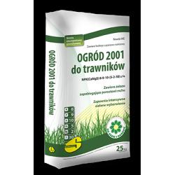 Ogród 2001 nawóz do trawnika 25 kg - Siarkopol